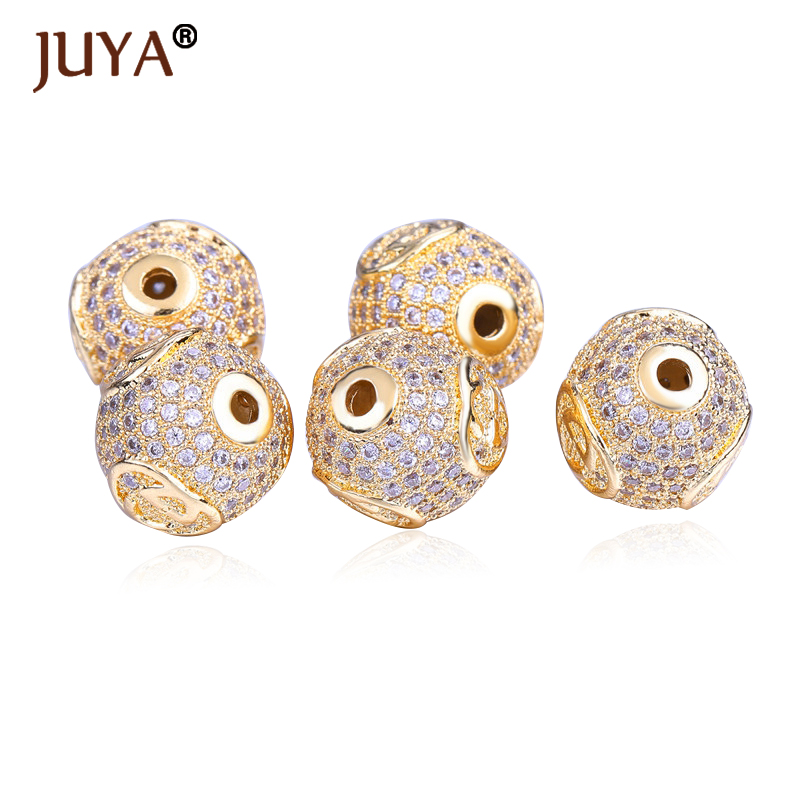 Detail Feedback Questions about Beads For Jewelry Making Top Quality Copper  Metal Inlay AAA Cubic Zirconia Rhinestone 12mm Round Beads Ball DIY  Accessories ... a93b0d1392e2