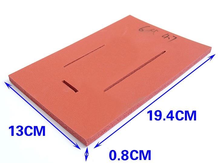 ᑎ‰Para iphone 6 6 plus vidrio laminado esponja pad con soporte de