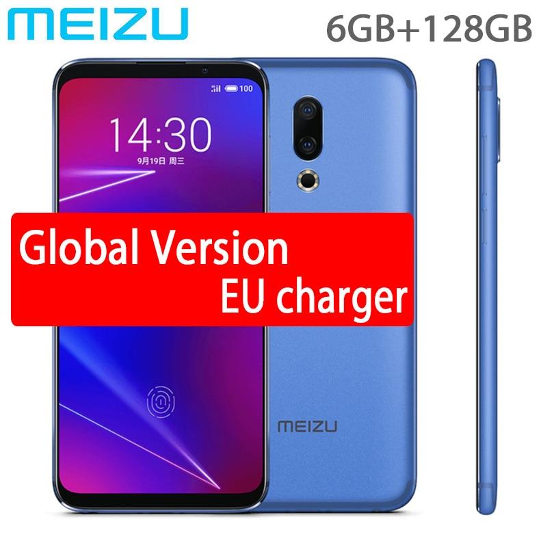 global version Meizu 16 4G LTE 6GB RAM Mobile Phone Snapdragon 710 Octa Core 6 0inch