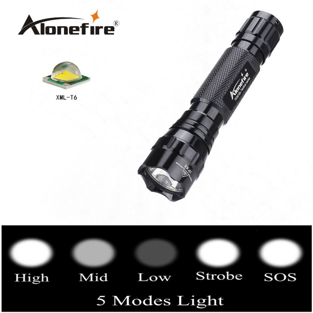 AloneFire TK501BS CREE T6 led flashlight torch 5mode xml t6 led Waterproof Tactical Flashlight sitemap 35 xml
