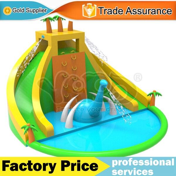 popular swimming pool slide