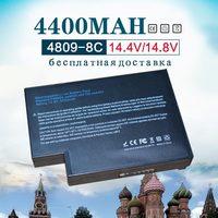 14 4 v 4400mAH Batterie für hp DB946A 319411 001 361742 001 4200 4300 F4809A 4400 4500 4600-in Laptop-Akkus aus Computer und Büro bei