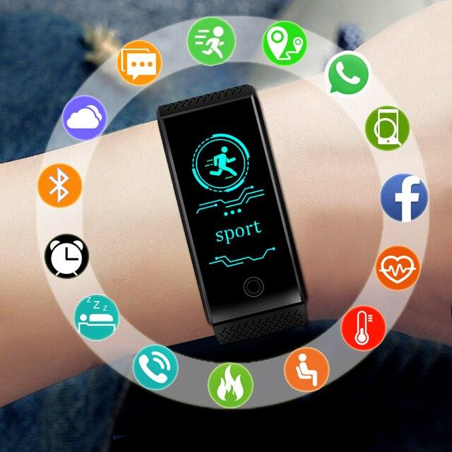 5987d12cc629 Deporte elegante reloj de pulsera de hombres electrónica reloj Digital LED  relojes de pulsera para hombres reloj hombre reloj Fitness Tracker