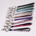 Bling Bling Crystal Lanyard Phone Chain Strap Rhinestone Many Colors Neck Lanyard Clasp 1000pcs/lot