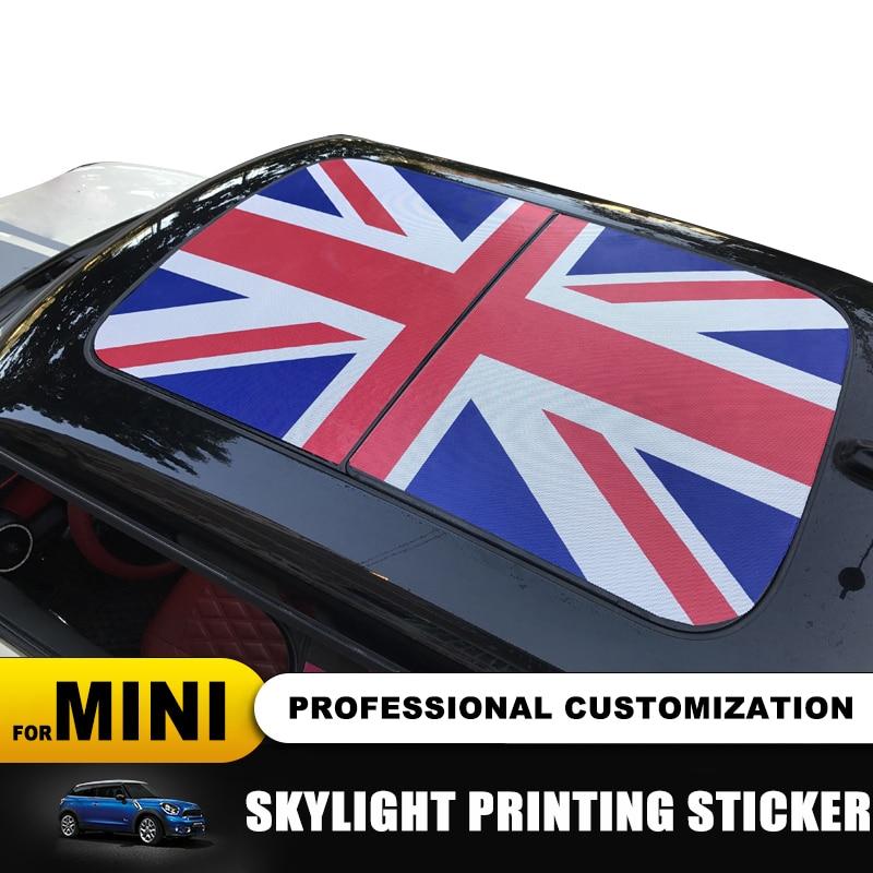 New Roof Skylight Sticker Car Styling for MINI COOPER F55 F56 F60 R55 R56 R60 R61
