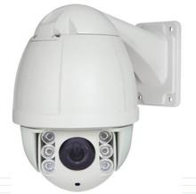 Full HD 1080P AHD mini camera with IR 10X optical zoom high speed dome camera IR distance 100m free shipping