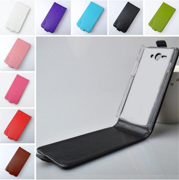 J&R Brand Leather Case For Philips S388 Flip Cover Vertical Magnetic High Quality 9 Colors