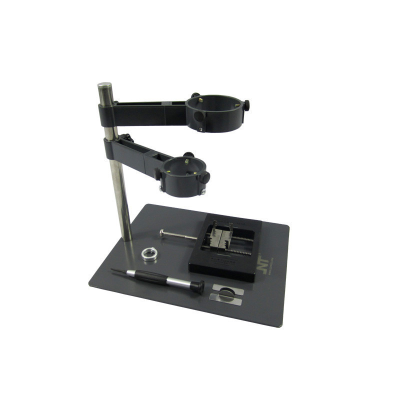 NT F204 Fixtures BGA soldering station and hot Air Gun Rework station mobile phone repair platform kaisi hot air gun clamp holder f 204 f 202 f 201 mobile phone laptop bga rework reballing station hot air gun clamp jig