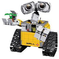 IDEA WALL E Robot Figure WALL E Bricks 687Pcs Building Blocks Model Toy For Children Gift