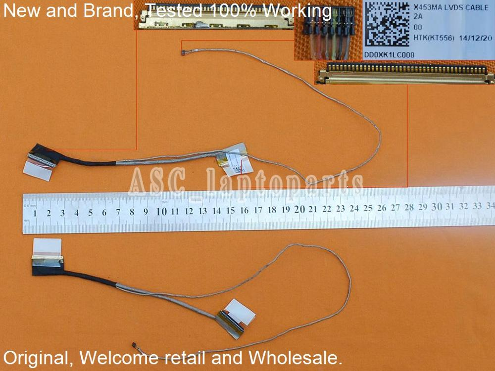 For ASUS UX303LA Laptop LCD Display Video Screen Flex Cable DC02C008Y0S 53cm