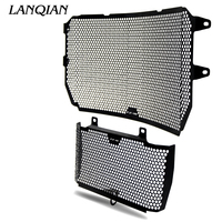 Black Motorcycle Accessories Radiator Guard Protector Grille Grill Cover For YAMAHA MT10 MT 10 FZ10 FZ