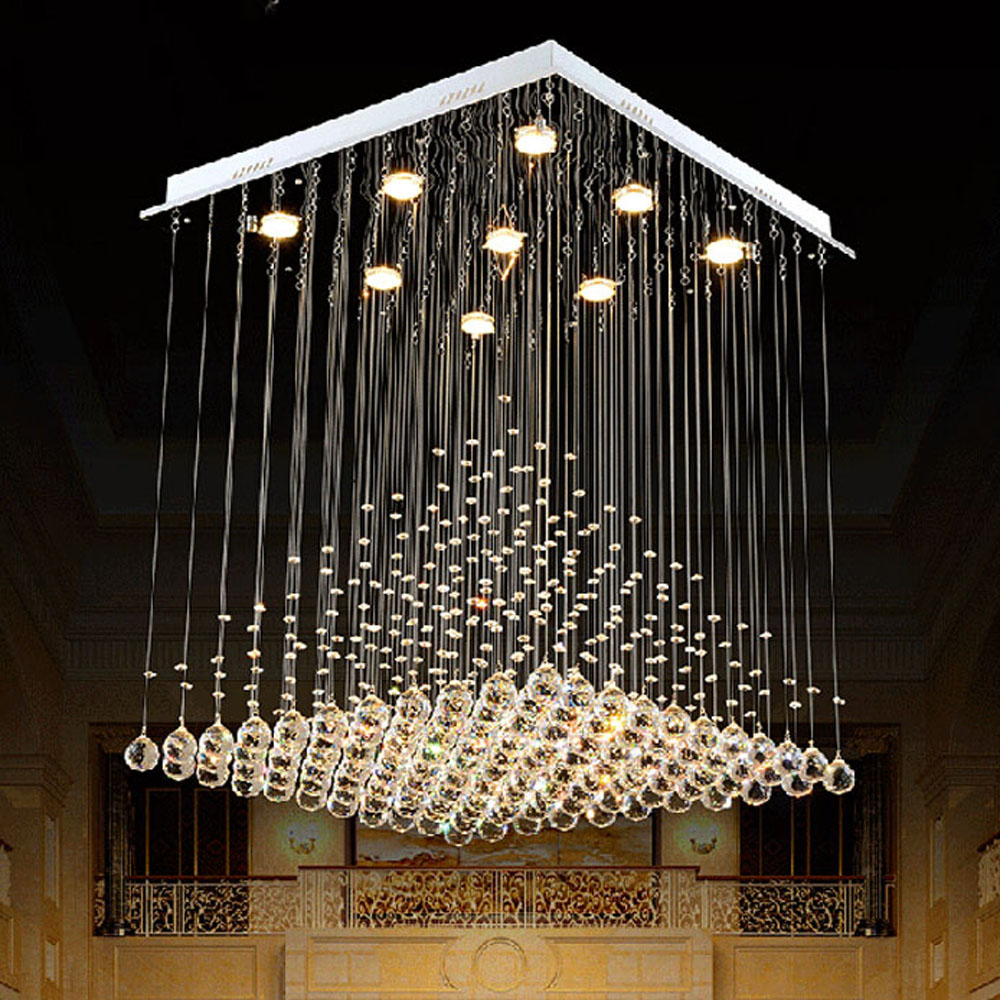 Modern living room lights square restaurant lights fashion creative personality simple pyramid project LED crystal hanging light виниловая пластинка the alan parsons project pyramid