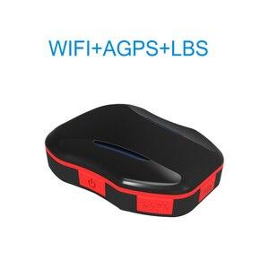 Image 1 - ミニ wifi の gps lbs ロケータリアルタイム agps 測位電子フェンス高齢者のための子スーツケースバックパック 2 通話モード