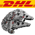 ЛЕПИН 05033 5265 Шт. Star Wars Конечная коллекционное Тысячелетний Сокол Модель Строительство Комплект Блоки Кирпичи Игрушки Совместимы Подарок 10179