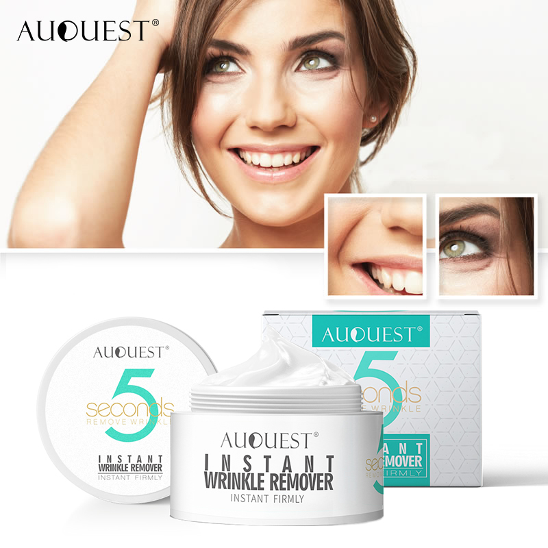 Hot Selling AuQuest Peptide Wrinkle Cream 5 Seconds Wrinkle Remove Skin Firming Ageless Tighten Moisturizer Face Cream Skin Care image
