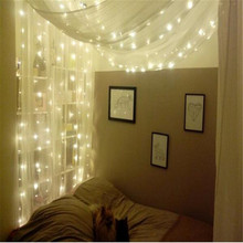 3M x 3M 300LED Outdoor Home String Fairy Curtain Strip