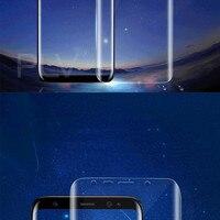 плв 3д изогнутые полный закаленное стекло для samsung Галактика С8 плюс экран протектор взрывозащищенные плёнки крышка для samsung С8 стекло