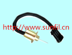 New Stop Solenoid 1503ES 12A5UC4S Bobcat S185 skid steer 6691498 for Kubota free shipping