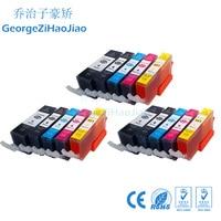 Conjuntos 3 PGI-520 520XL PGI520 CLI521 Cartucho de Tinta Compatível para Canon Pixma MP540 MP55 MP630 MP640 MP980
