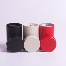 Размер: диаметр 74x117 мм круглая жестяная коробка для чая/контейнер для чая/для упаковки чая 75 г/жестяная банка для пищевых продуктов