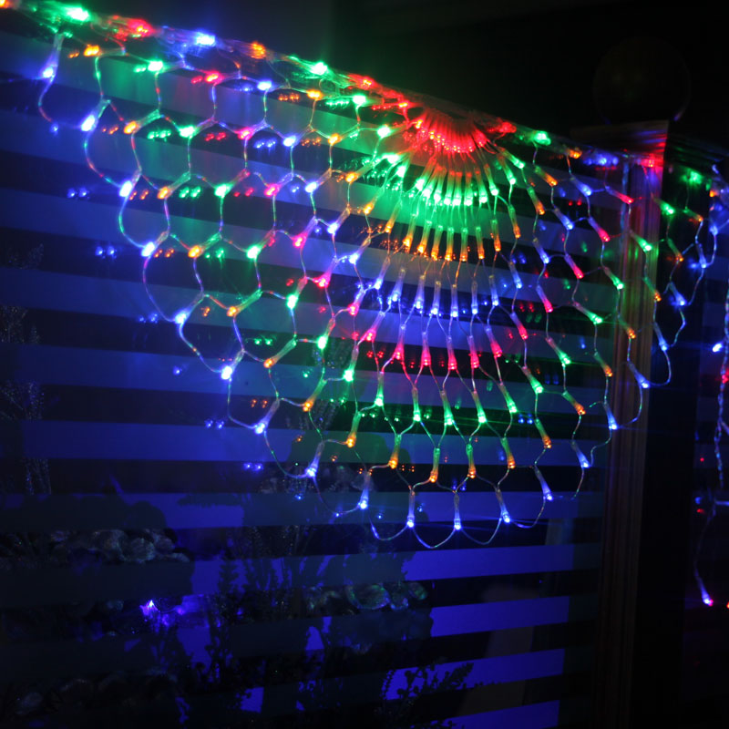 Waterfall 3*0.8m LED Net Lights Flash Curtain lamp for fairy wedding Indoor Outdoor New Year Holiday Christmas Tree Decoration 7 85 lcd display lcd screen for digma plane 8 1 3g tablet replacement free shipping