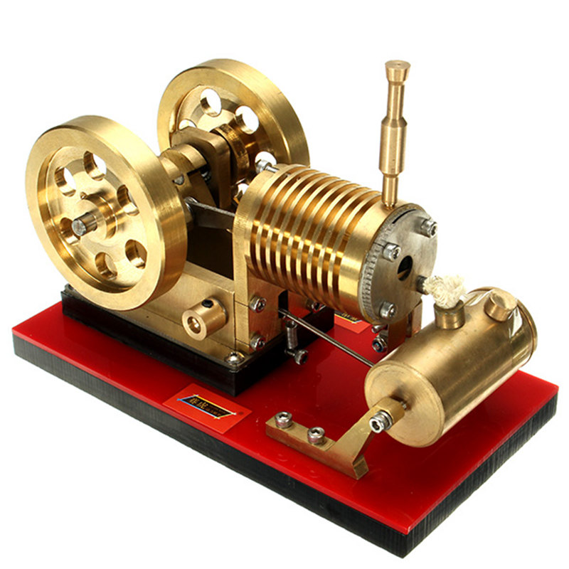 Fire-rated Stirling engine, all-metal engine model, creative gift, birthday gift engine oil engine mini engine model hit and miss engine send friend birthday gift