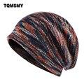 шапки женскиеУдлиненный трикотажный свитер шерстяная шапка мужская зимняя шапка сохраняющие тепло шапочки мужские шапки плюс бархатные ш...