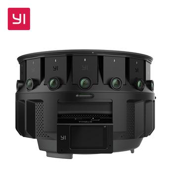 YI HALO VR Camera 3D-360 camera 5GHz Wi-Fi 2.2 Inch LCD Touch Screen 100 Minutes Battery Life Ambarella  Main Processor grille