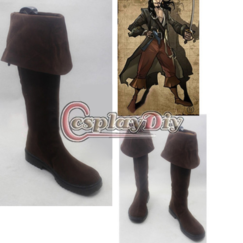 Adult jack sparrow boot pirate covers