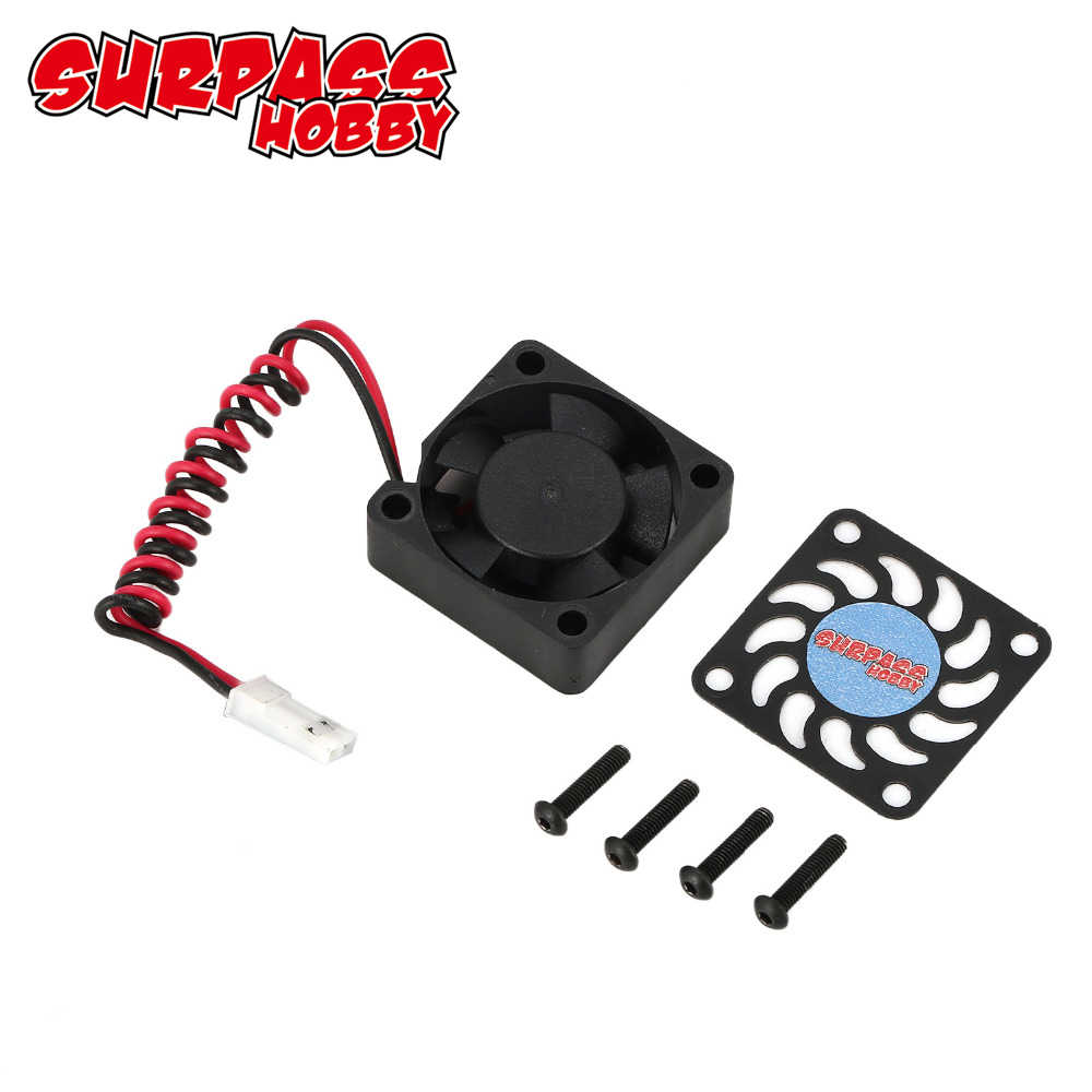 SURPASSHOBBY 21000 RPM Cooling Fan Motor Heat Dissipation for Brushless Motor 540 RC Car Accessory Spare Parts
