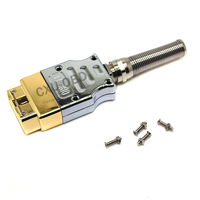 J1962M OBD2 16pin connector metal High Quality Free Shipping