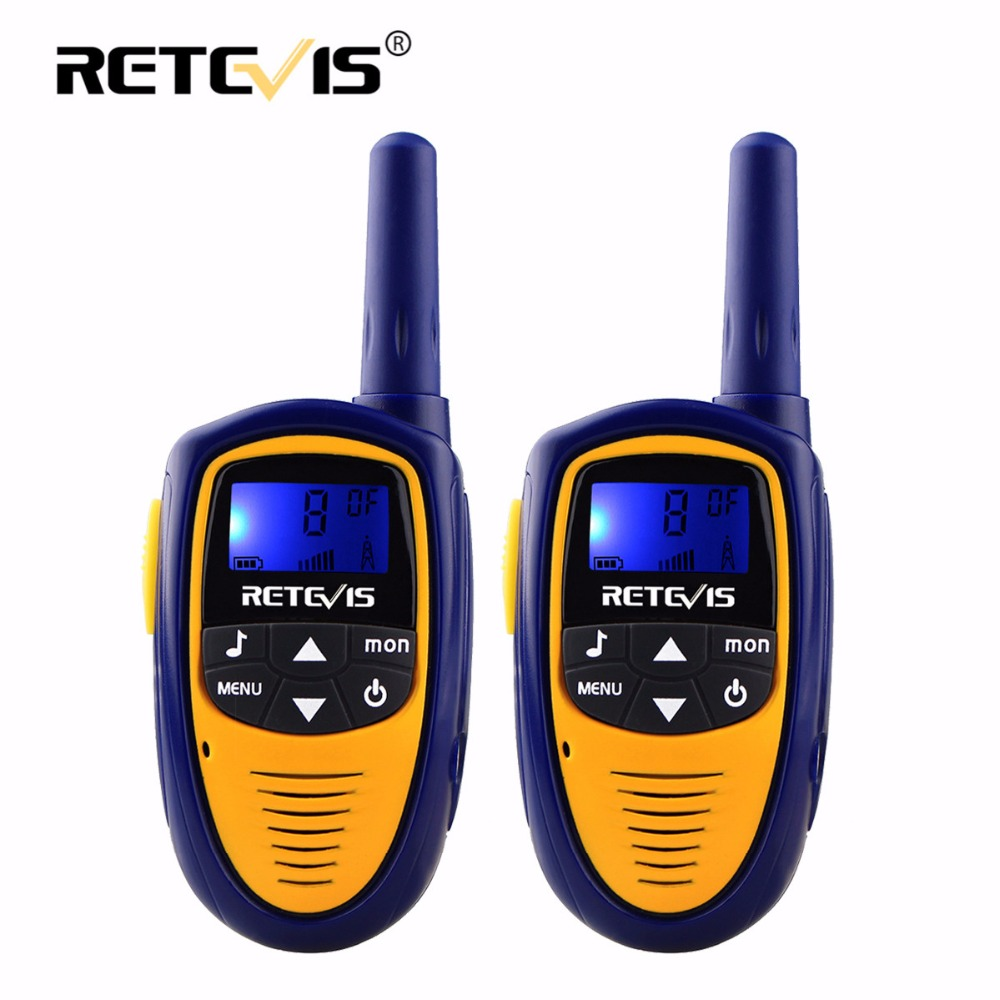 A pair Retevis RT31 Children Walkie Talkie For Kids 0.5W 8/22CH PMR FRS PMR446 Handheld Mini 2 Way Radio Hf Transceiver Toy Gift