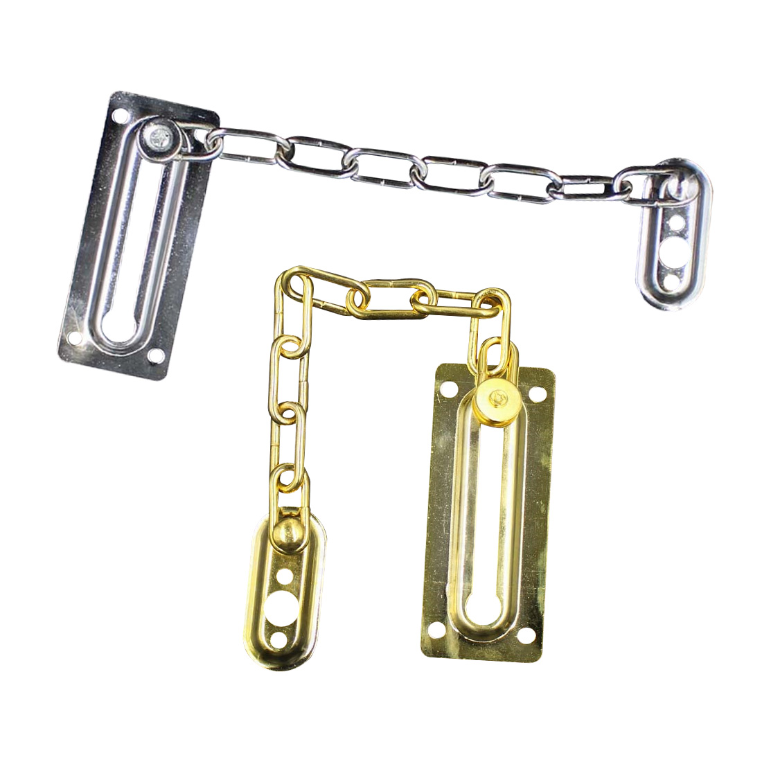 Security Peep Bolt Locks Cabinet Latches 1pc Chrome Chain Door Safety Guard Latch DIY Home Tools
