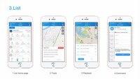 concox Cut недавно мини-Personal диапазона квада GPS голос монитор в реальном времени автомобиля GSM и GPRS дети трекер локатор GSM и устройства слежения сос