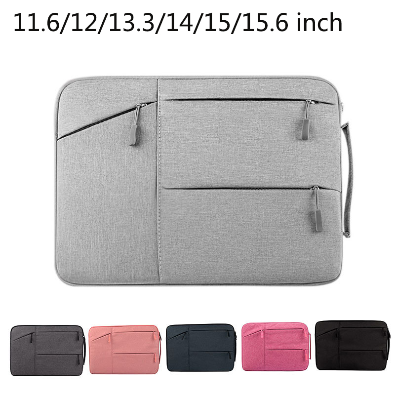 Tablet Sleeve Case for Microsoft Surface Pro 3 4 5 Surface Book Laptop Bag Cover for Macbook Lenovo 11.6/12/13.3/14/15/15.6 inch tablet case for surface pro 3 pro 4 ultra thin portable sleeve handbag for microsoft surface pro 5 12 3 inch pouch bag