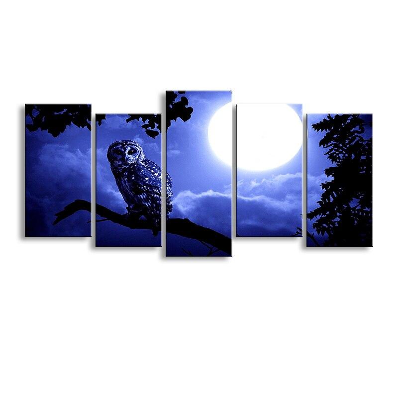 Definition druck, Wenn die sonne steigt landschaft leinwand malerei poster und wand kunst wohnzimmer bild RCS-006