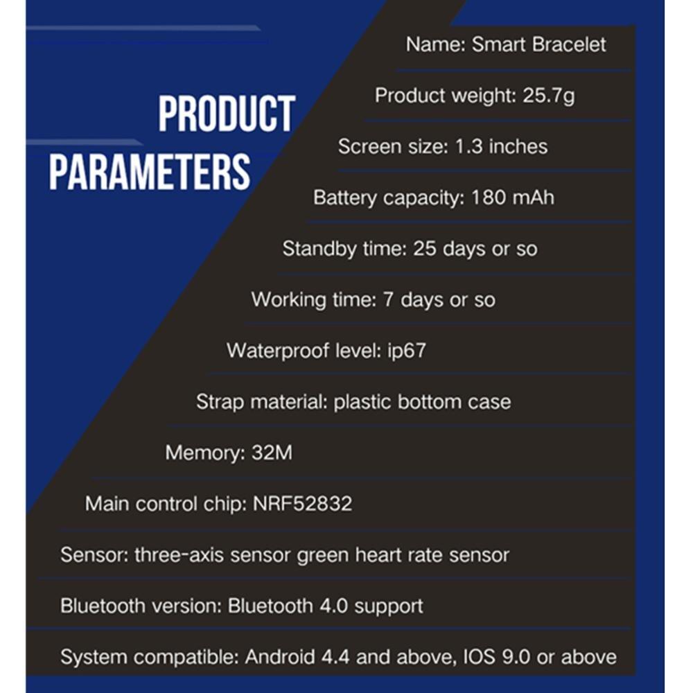696 B57 smart watch IP67 waterproof smartwatch heart rate monitor multiple sport model fitness tracker man women wearable 2