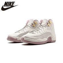 d01e0c10d70 Original Authentic NIKE Air Jordan 12 Retro PREM HC GG Women's Basketball Shoes  Sneakers Sport Outdoor Athletic845028-025