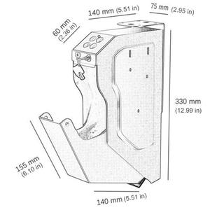 Image 5 - Gun Safe box Guns Password Combination Safe box Digital Code Safes With Security Key High Quality Steel Strongbox