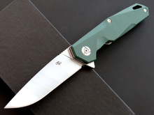 CH CH1047 G10 folding knife D2 blade ball bearing G10+steel handle outdoor survival hunting camping fruit knife EDC tools цены