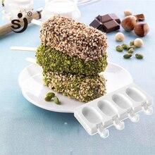SJ 3 формы силиконовые формы для крема мороженого партия конфет бар DIY инструмент для приготовления сока морозильник льда Форма для льда