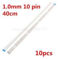 10 stücke Reverse Flachbandkabel AWM 20624 80C 60 V 1 0mm 10 Pin 400mm 10 p 40 cm FPC kabel