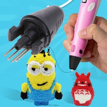 New Printer Pen Injector Head Nozzle For Second Generation 3D Printing Pen Parts