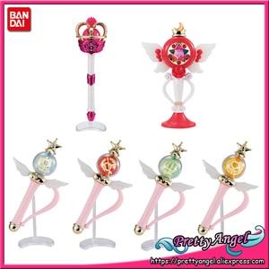 Image 1 - PretyAngel   Genuine Bandai Gashapon Sailor Moon Wand Charm Sailor Moon Stick & Rod Vol.4 Set (Set of 6 PCS)