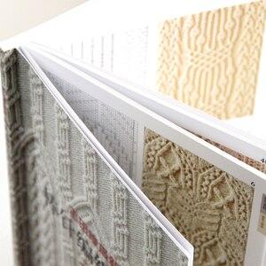 Image 4 - 2 Stuks Chinese Editie Nieuwe Breien Patronen Boek 250/260 Hitomi Shida Ontworpen Japanse Trui Sjaal Hoed Klassieke Weave Patroon