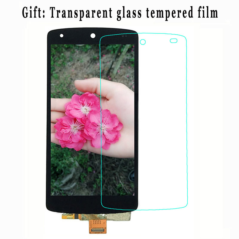 Red Black For LG Google Nexus 5 D820 D821 LCD Touch Screen LCD Display with Frame