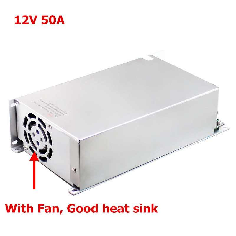 Светодиодный трансформаторы переменного тока 220 В до 12 В Питание 1A 5A 10A 20A 30A 40A 50A Светодиодный драйвер 10 Вт 60 Вт 400 Вт 500 Вт адаптер светодиодной ленты