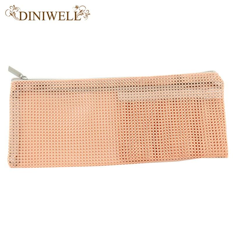 Diniwell Путешествия нейлоновая сетка на молнии сумка для хранения туалетных принадлежностей косметический косметичку кошелек мешок