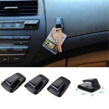 3 шт. ABS пластик автомобильный держатель Удобный Mni автомобильный крюк вешалки для автомобиля Черный авто сумка крюк держатель автомобиля вешалка для пальто
