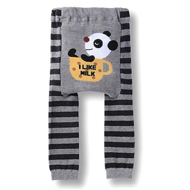 2018 Spring Panda Baby Pants baby girls Clothes Animal Newborn Underpants Leggings bebe trousers baby boy clothing